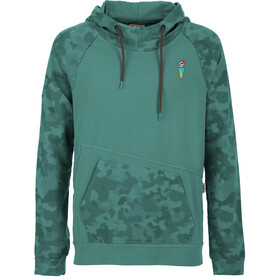 E9 Squ-C Fleece Heren, sage green